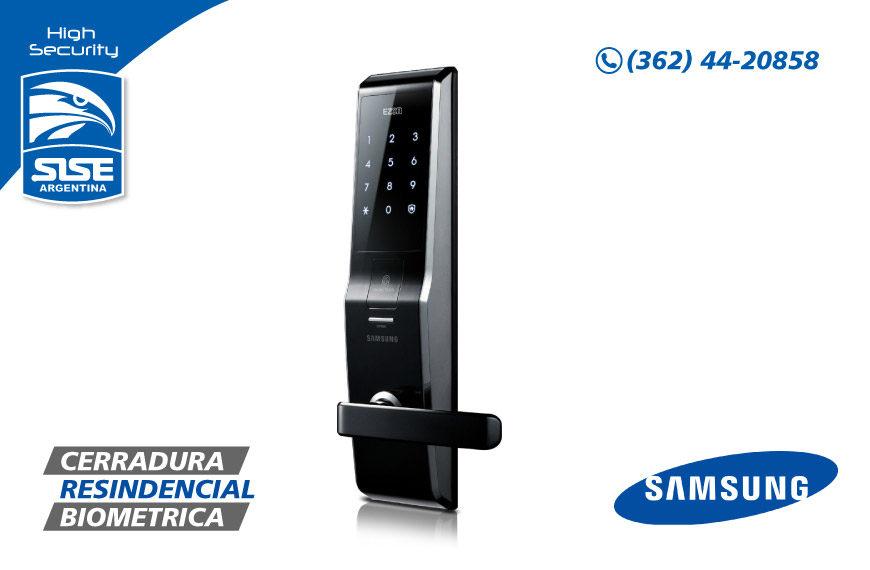 Cerraduras residenciales Samsung